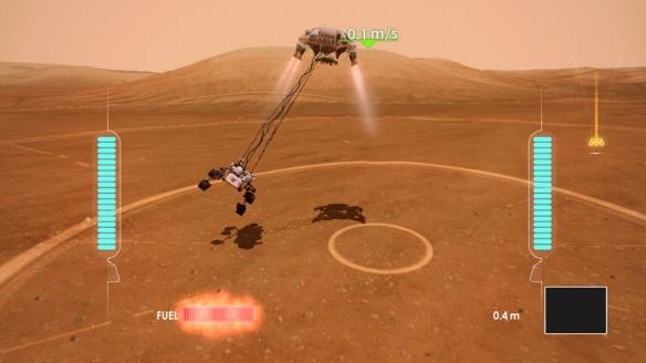 Mars Rover Touchdown